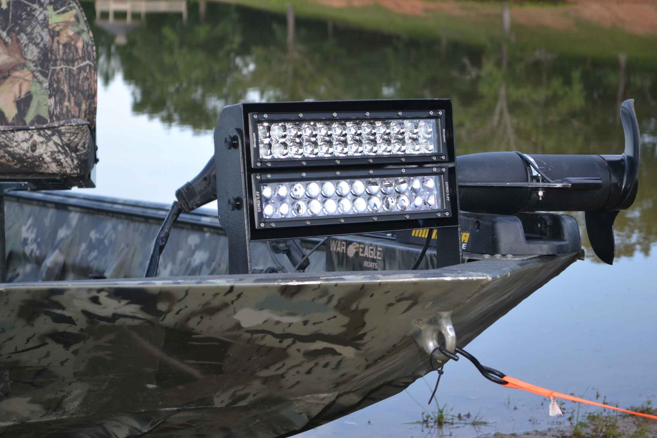 Duck boat system stingray industries led llc duck boat system aloadofball Images